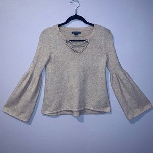 AMERICAN EAGLE | Light Pink Sweater | Size XS